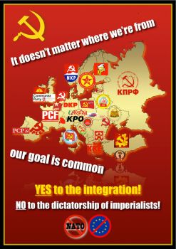 European communism - propaganda by Tomasz96