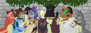 Dinner at Chateau De La Thorn by T-h-o-r-n