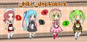 Chibi Adoptables 04 : CLOSED by YuikoHeartless