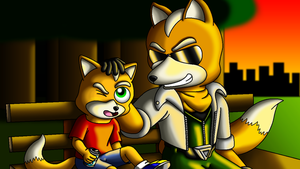 McClouds Father and Son bonding. by SonicBoomerang