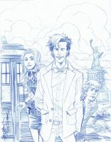 SKRATCHADAY Doctor Who by thejeremydale