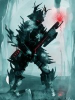 thawing robot speed paint by ShinoShoe26