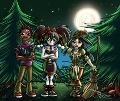the Annyseed Tribe by MirrorwoodComics