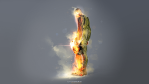 Fire From Above by Bmor-Creative