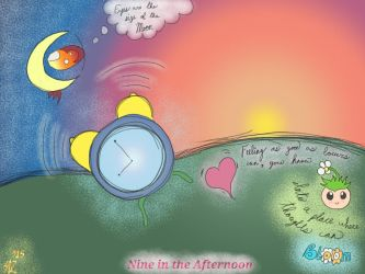Nine in the Afternoon - #Sketchthis  by Zahuranecs
