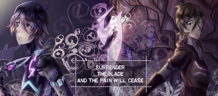 Surrender the Blade and the Pain will cease by verocayden