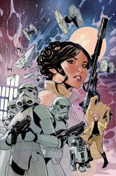Star Wars: Princess Leia #4 Cover by TerryDodson