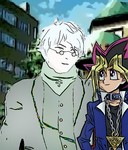 Yugi and Ozpin! by imyouknowwho