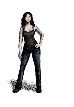 Adrienne - The Billionth Design by sixstringphonic