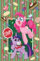 Friends Forever: Twilight and Pinkie Pie by BrendaHickey