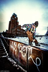 snowboarding by anttiphoto