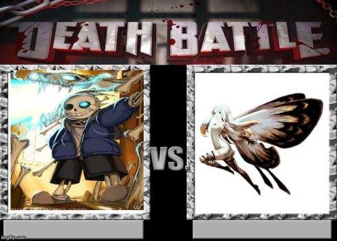 Death Battle! Sans vs Airy the Fairy by Wcher999
