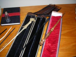Harry Potter Wands purchased by ajb3art