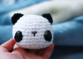 Another Panda by tinyowlknits