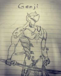 Overwatch 'Genji' by Smallcookies123
