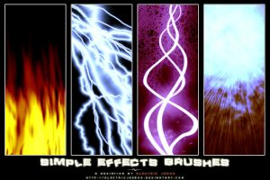 Simple Effects Brushes by electricjeebus
