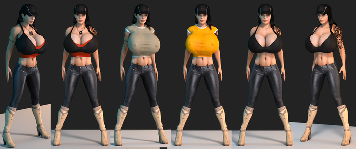 Clothes concepting by Mishai