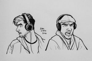More Jackaboy Faces. by RamNieto