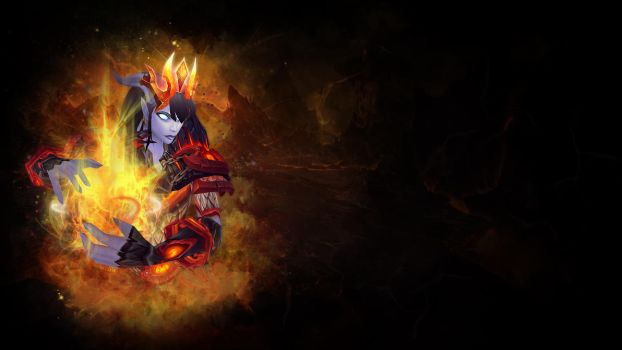 Shaman Firelands Wallpaper by NelEilis