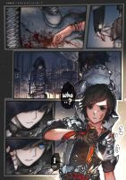 Black Blooded pg1 by kawacy