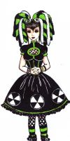 Cyber goth loli by chocolatehomicide
