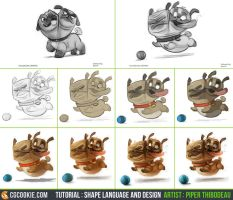 Tutorial Step by Step: Cerberus Pug by CGCookie