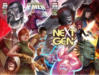 Age of X-Man: The Marvelous X-Men#1,NEXTGEN#1 by inhyuklee