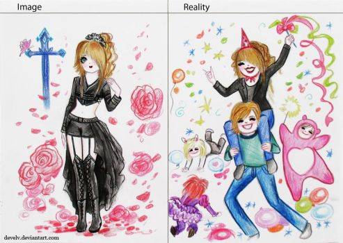 Image and reality by Develv