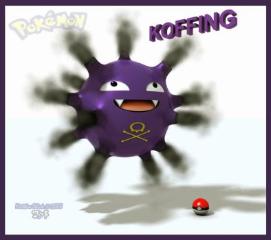 Koffing by Deejayqt