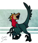 Dumb Bird [Available as sticker!] by Enma-Darei