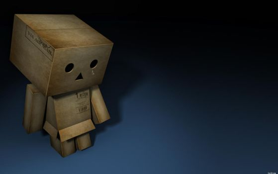 my name is Danbo by 3DEricDesign