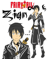 Fairy Tail OC: Zian Blackstroke by Kalina1176