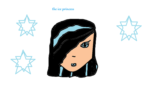 The Ice Princess by gothfairy11