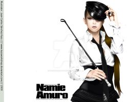 Namie Play Vector Wallpaper 01 by Kassworkshop