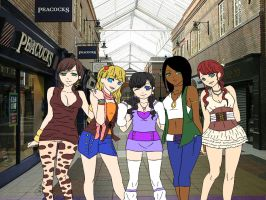 The Mall! by Catsie95
