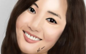 Park Min Young - Digital Paint by whin