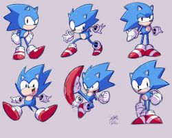More Sonic Sketches by StaticBlu