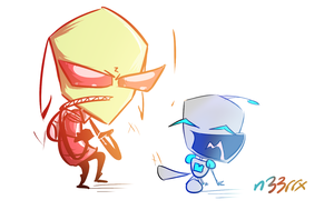 Gir And Zim by n33rrx