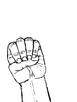 Hand-A-Day 4 'E' by Animus3