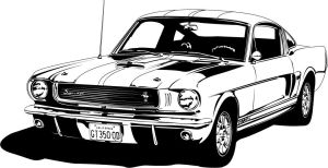 old school style Shelby by vonbmac