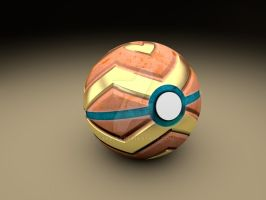 Hearth oreStone pokeball by Sara-A2