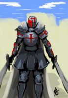 Speedpaint test: crusader. by igasoris