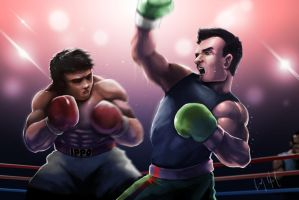 Ippo VS Little Mac by Ky2