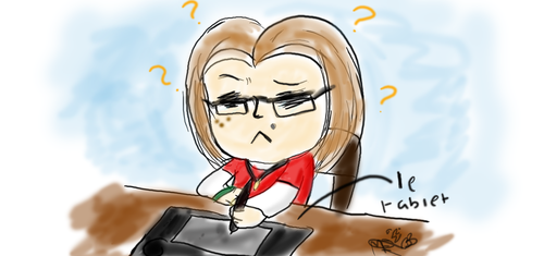 Tablet confusion by Millemoo2010