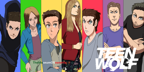 The Fight is On! ~ Teen Wolf by TheMuseumOfJeanette