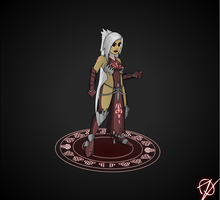 Lanaya The WarMage / Apprentice | Oversoul by oznplt