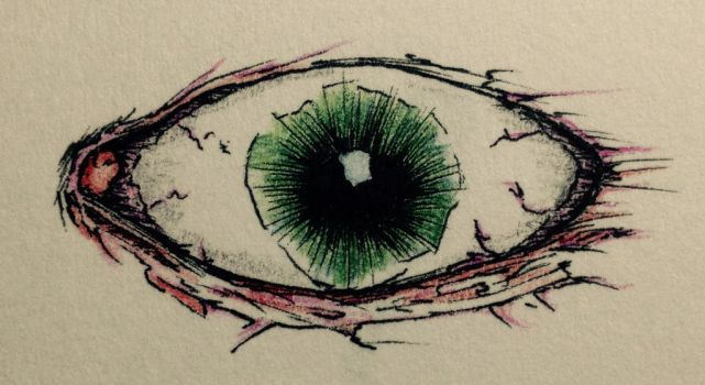 eye by GrimZombie