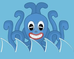 Octo  the octopus march design by IDROIDMONKEY