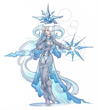 ice mage by drachenmagier