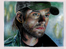 Bucky Barnes by Marrannon